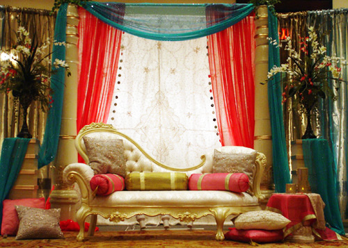 Pakistani Wedding Decor And Muslim Wedding Decorations By